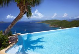 Pool of the Falcon's Nest Villa on PETER ISLAND