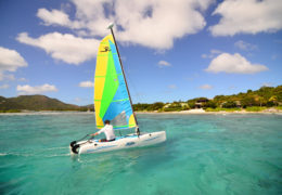 Sailing Hobie Cat Surfsong Villa Resort