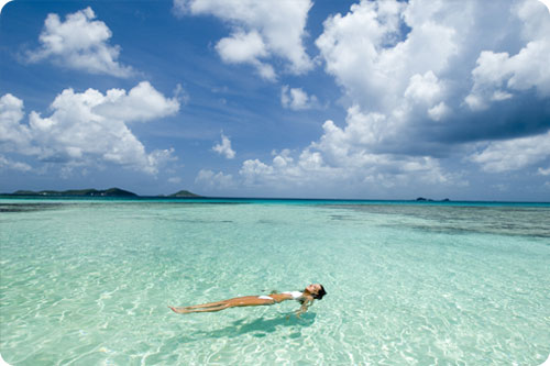 Relaxing in the British Virgin Islands