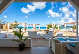 Lambert Beach Restaurant view